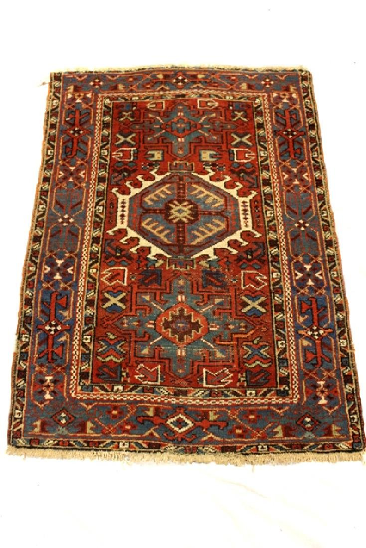 Caucasian semi-antique Kazak style rug