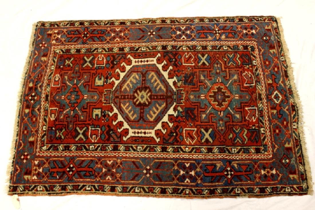 Caucasian semi-antique Kazak style rug - 2