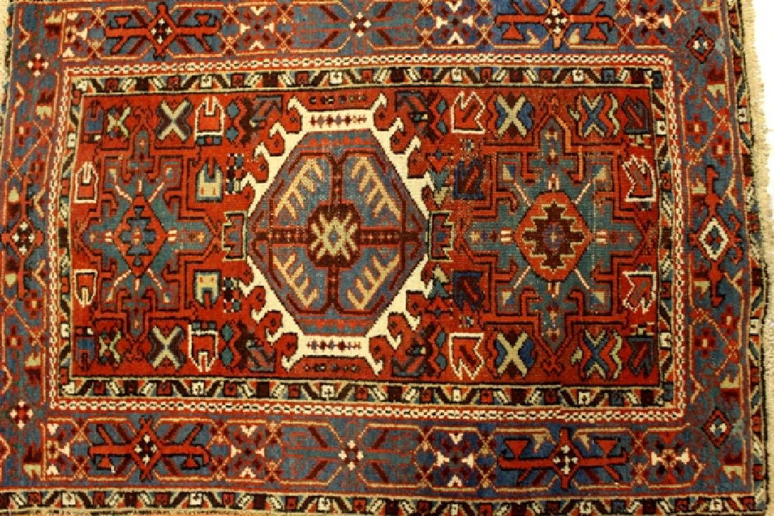 Caucasian semi-antique Kazak style rug - 3