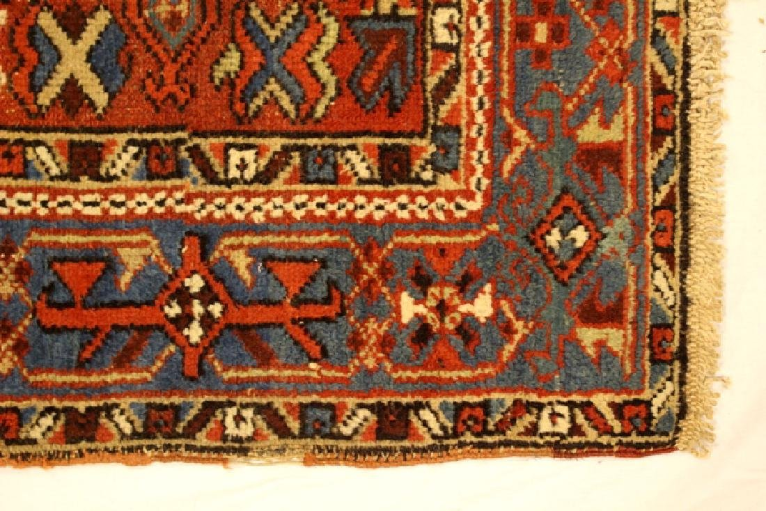 Caucasian semi-antique Kazak style rug - 4