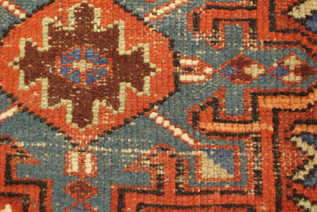 Caucasian semi-antique Kazak style rug - 5