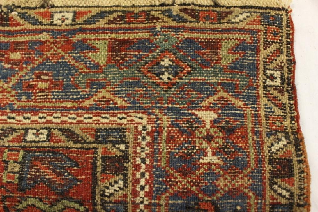 Caucasian semi-antique Kazak style rug - 7