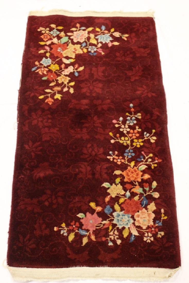 Art deco Chinese rug