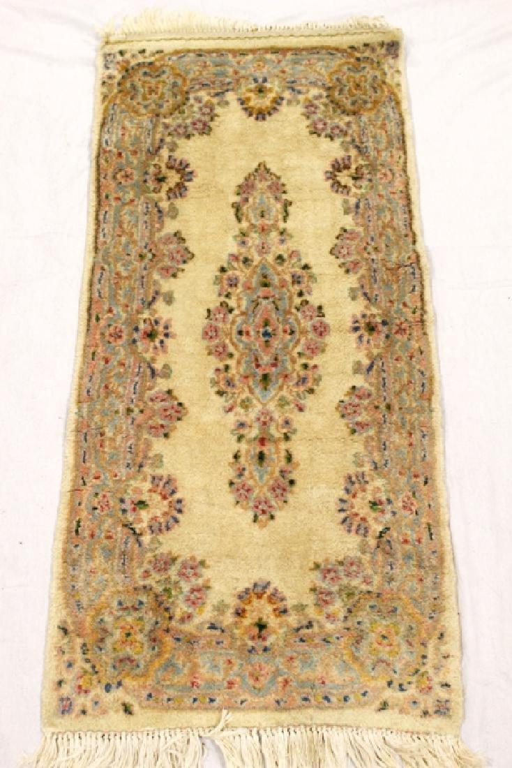 Semi-antique Kerman area rug
