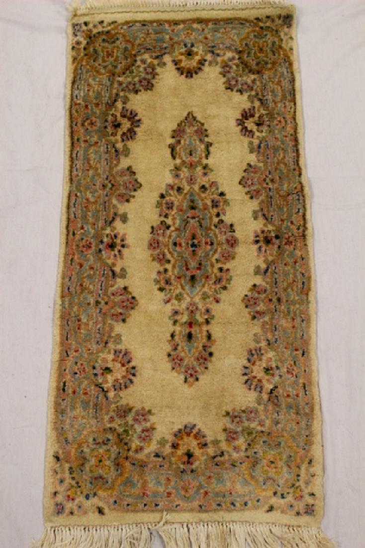 Semi-antique Kerman area rug - 2