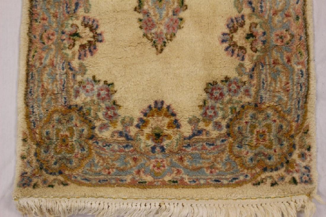 Semi-antique Kerman area rug - 3