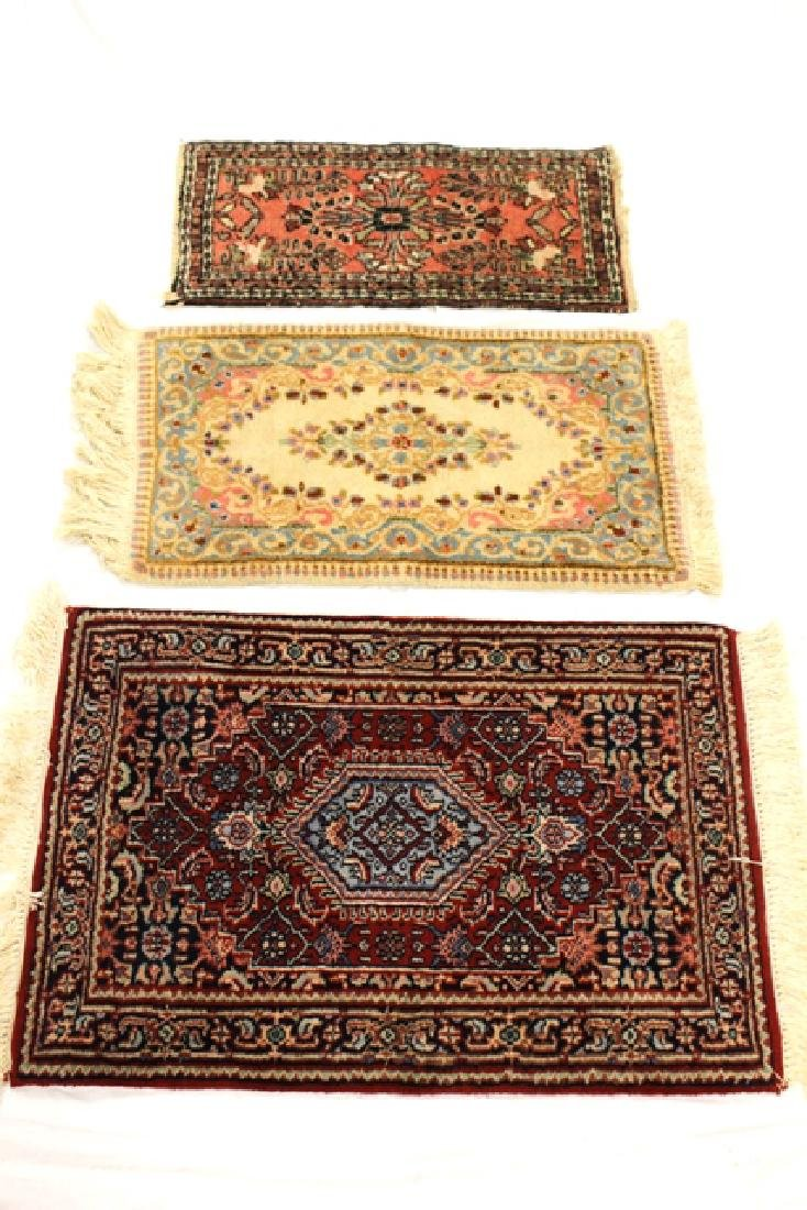 Group of three semi-antique rugs