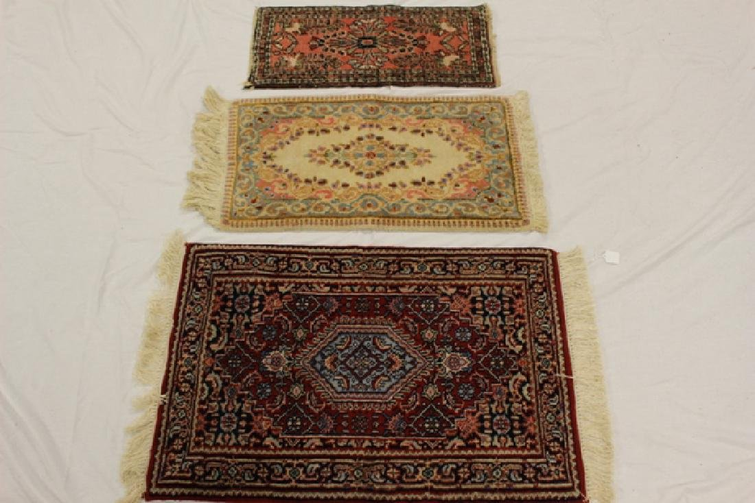 Group of three semi-antique rugs - 2