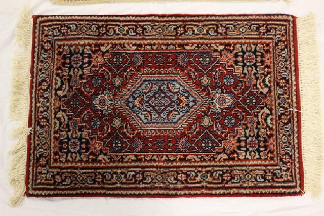 Group of three semi-antique rugs - 3