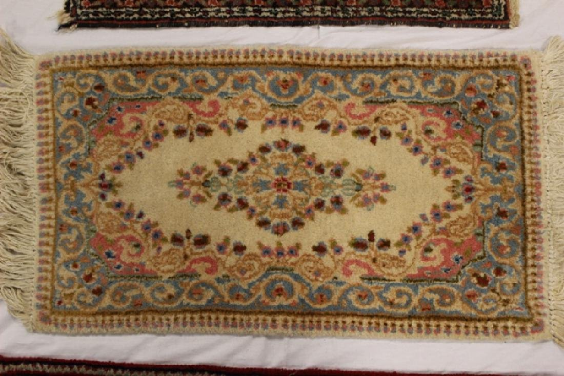 Group of three semi-antique rugs - 4