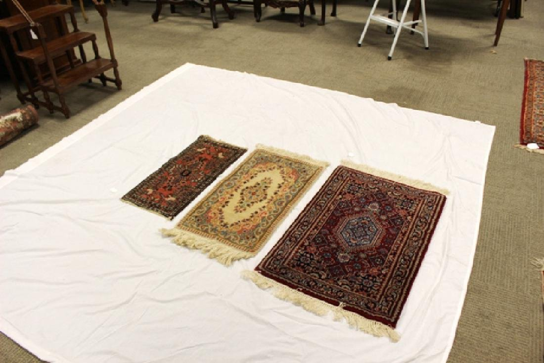 Group of three semi-antique rugs - 6