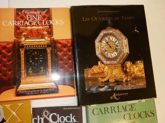 30 Various Clock Books And Magazines - 3