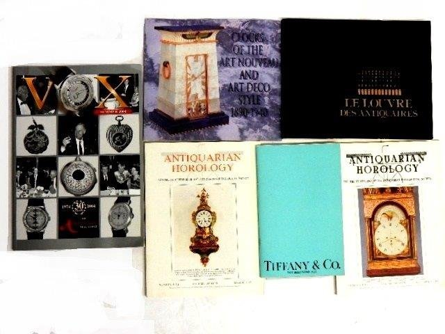 30 Various Clock Books And Magazines - 8
