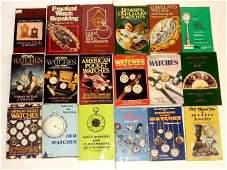50 Books On Clocks, Watches & Jewelry