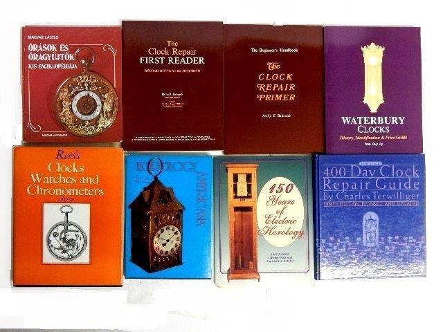 50 Books On Clocks, Watches & Jewelry - 2