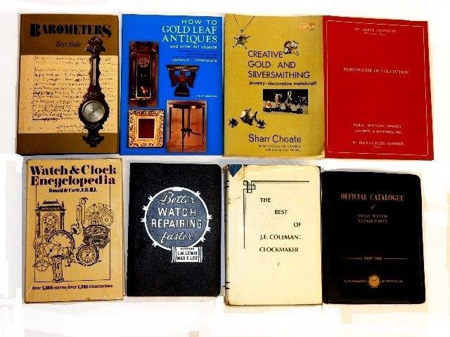50 Books On Clocks, Watches & Jewelry - 3