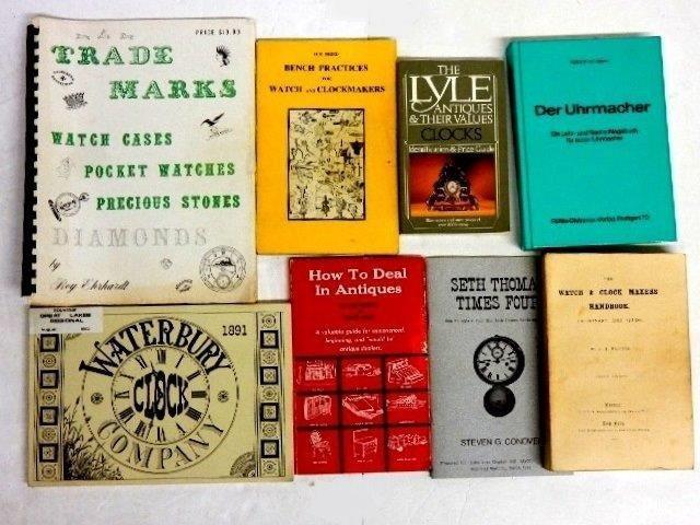 50 Books On Clocks, Watches & Jewelry - 5