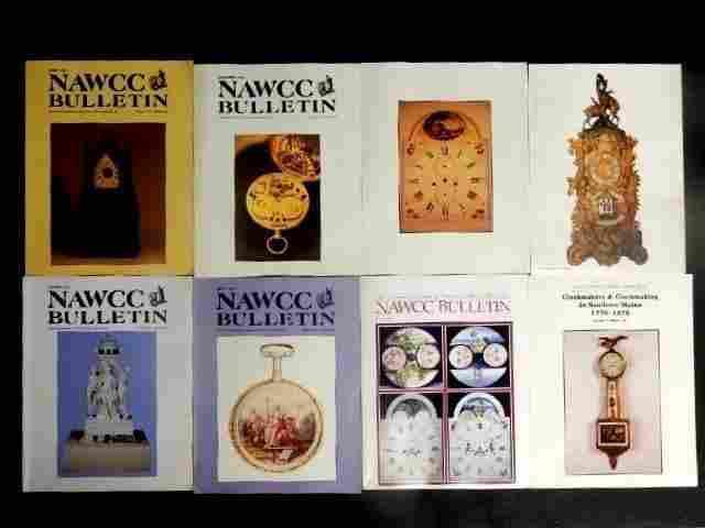 48 NAWCC Bulletin Magazines 1980s & 90'
