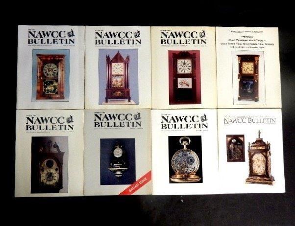 48 NAWCC Bulletin Magazines 1980s & 90' - 3