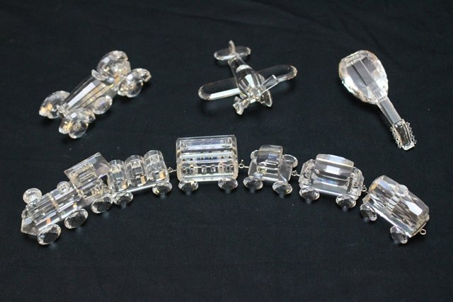 Swarovski Crystal 9 Piece Lot