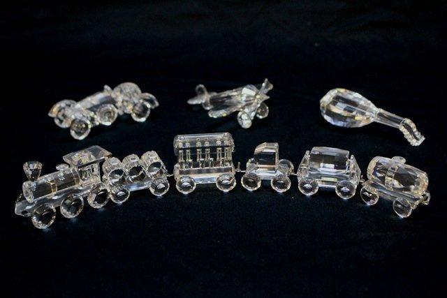 Swarovski Crystal 9 Piece Lot - 2