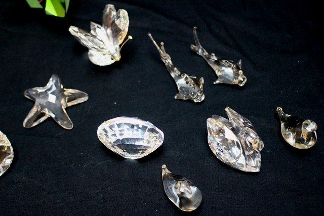 Swarovski Crystal 16 Piece Lot - 5