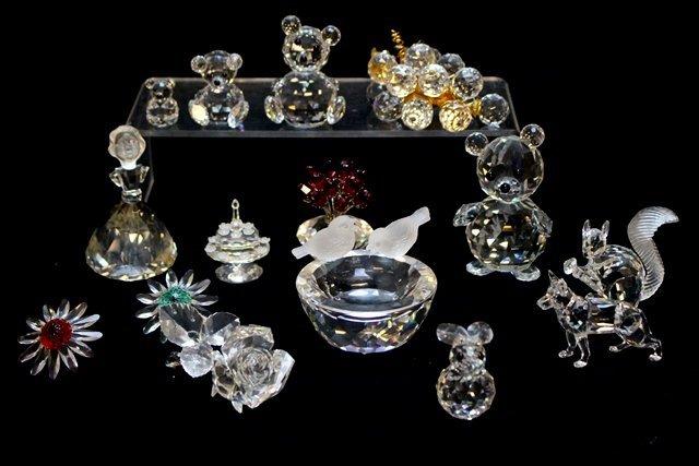 Swarovski Crystal 13 Piece Lot