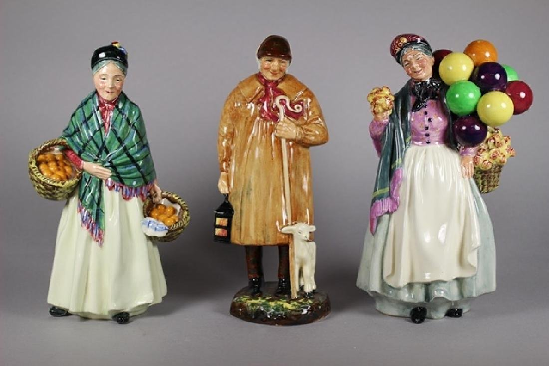 Royal Doulton COLLECTION OF FIGURINES
