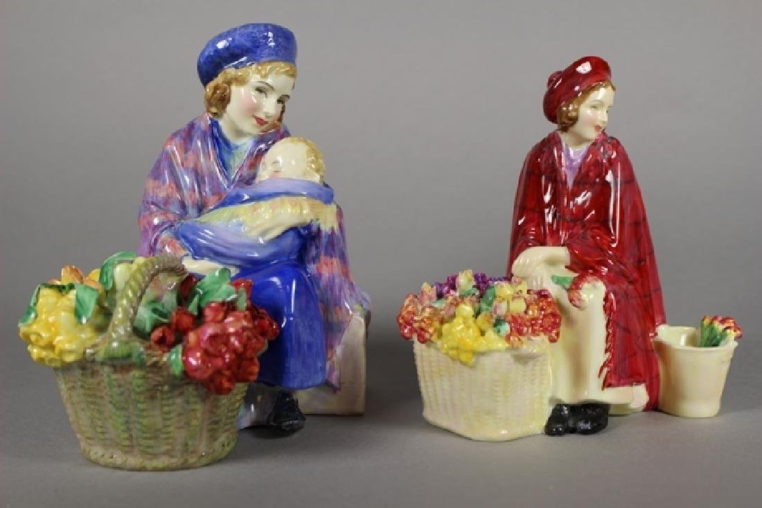 PAIR Royal Doulton FIGURINES