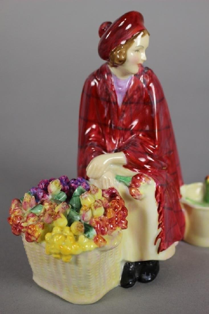 PAIR Royal Doulton FIGURINES - 6