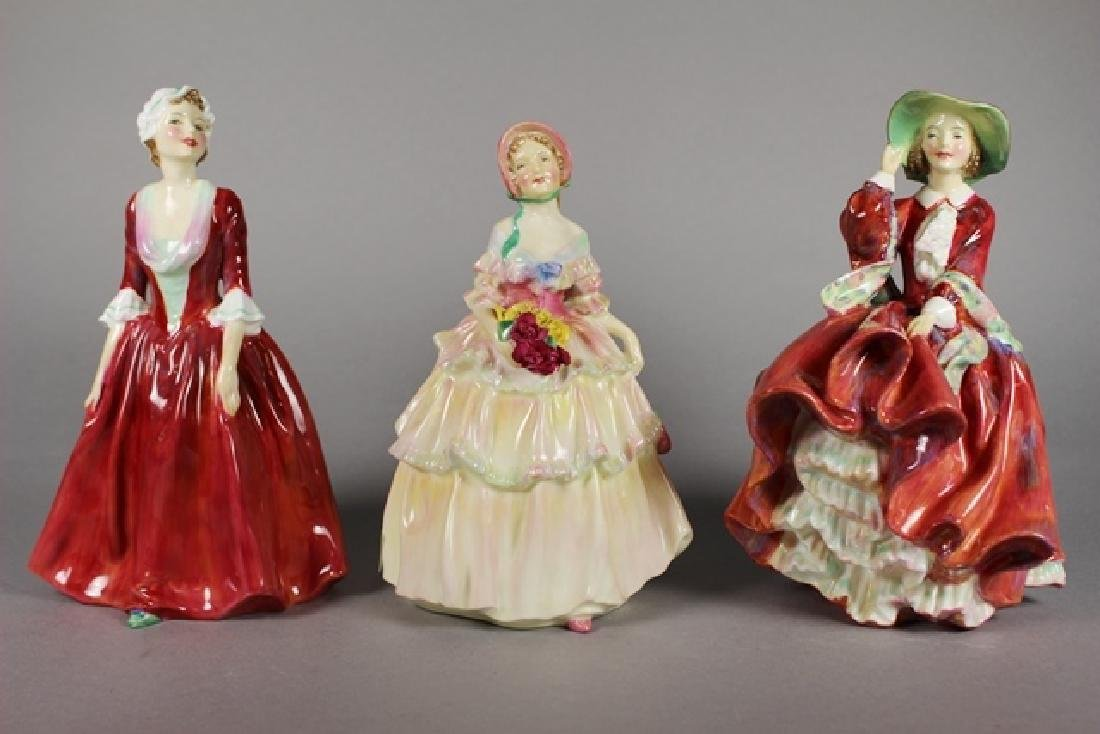 Three Royal Doulton Figurines