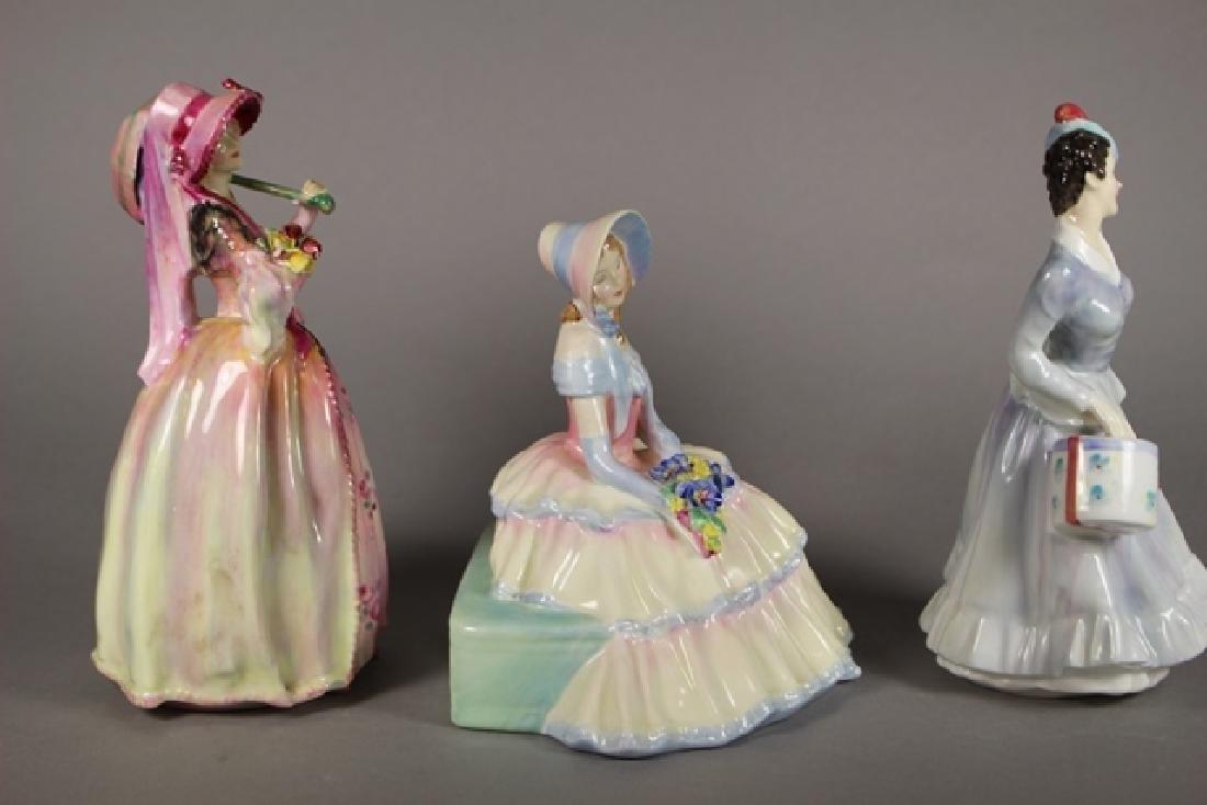 Three Royal Doulton Figurines - 2