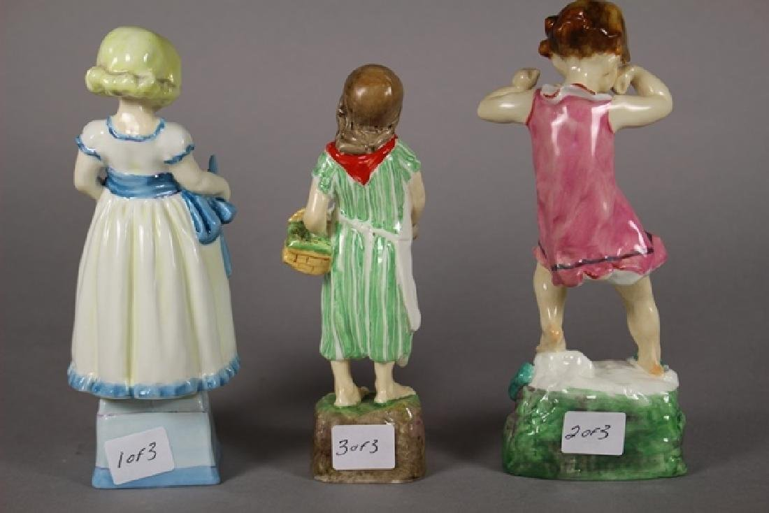 Three Royal Worcester Figurines - 3