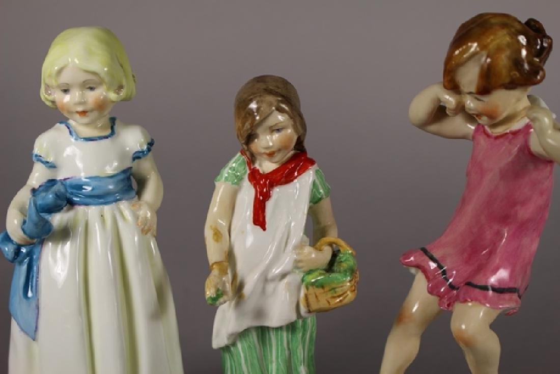 Three Royal Worcester Figurines - 7