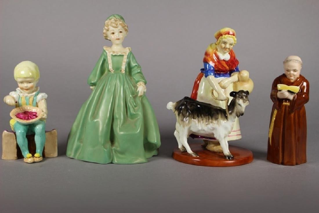 Four Royal Worcester Figurines
