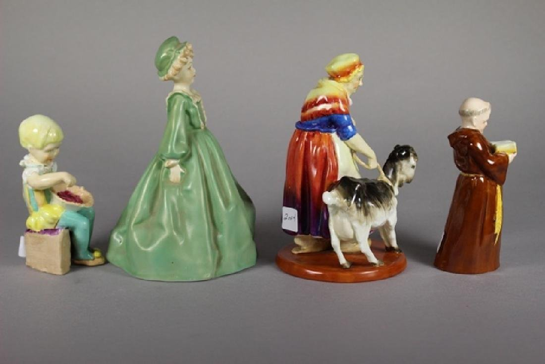 Four Royal Worcester Figurines - 2