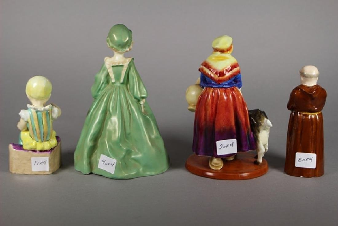 Four Royal Worcester Figurines - 3