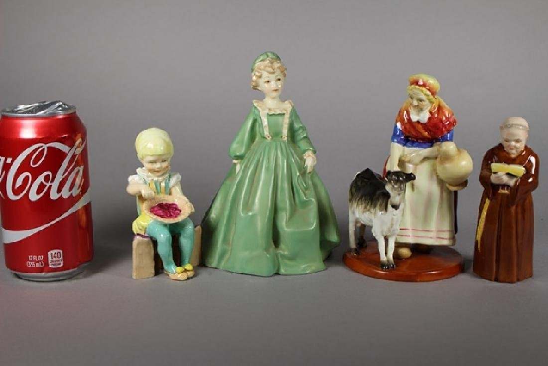 Four Royal Worcester Figurines - 6