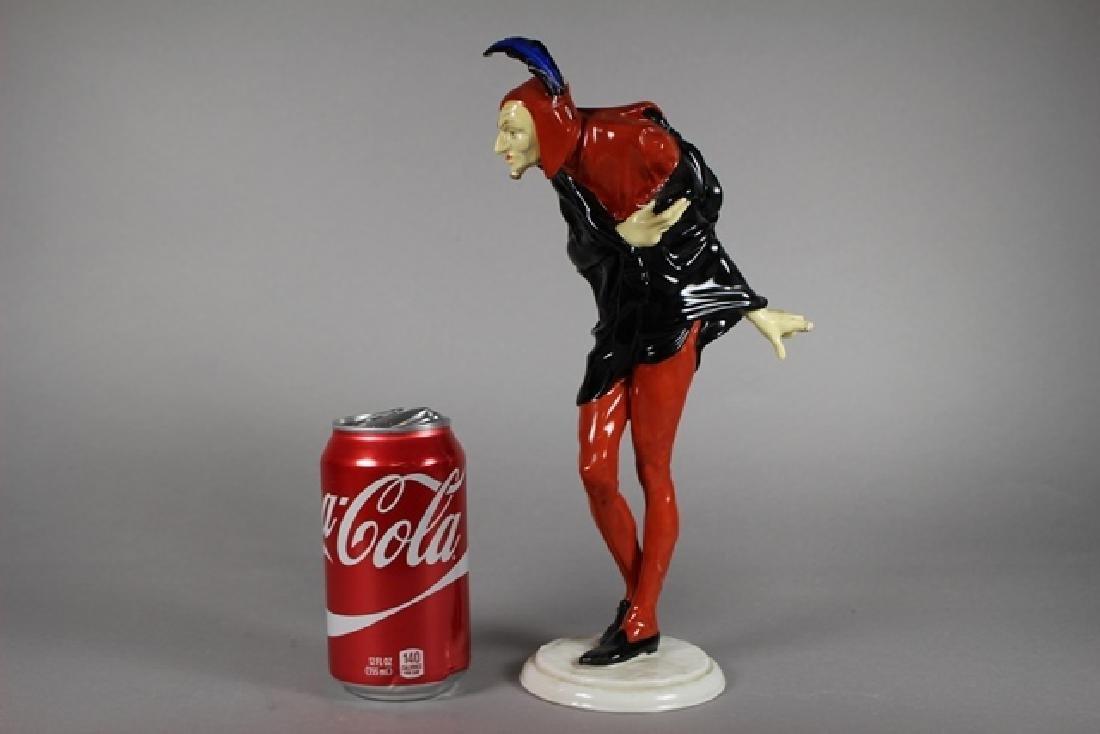 Hutschenreuther Jester Porcelain Figurine - 8