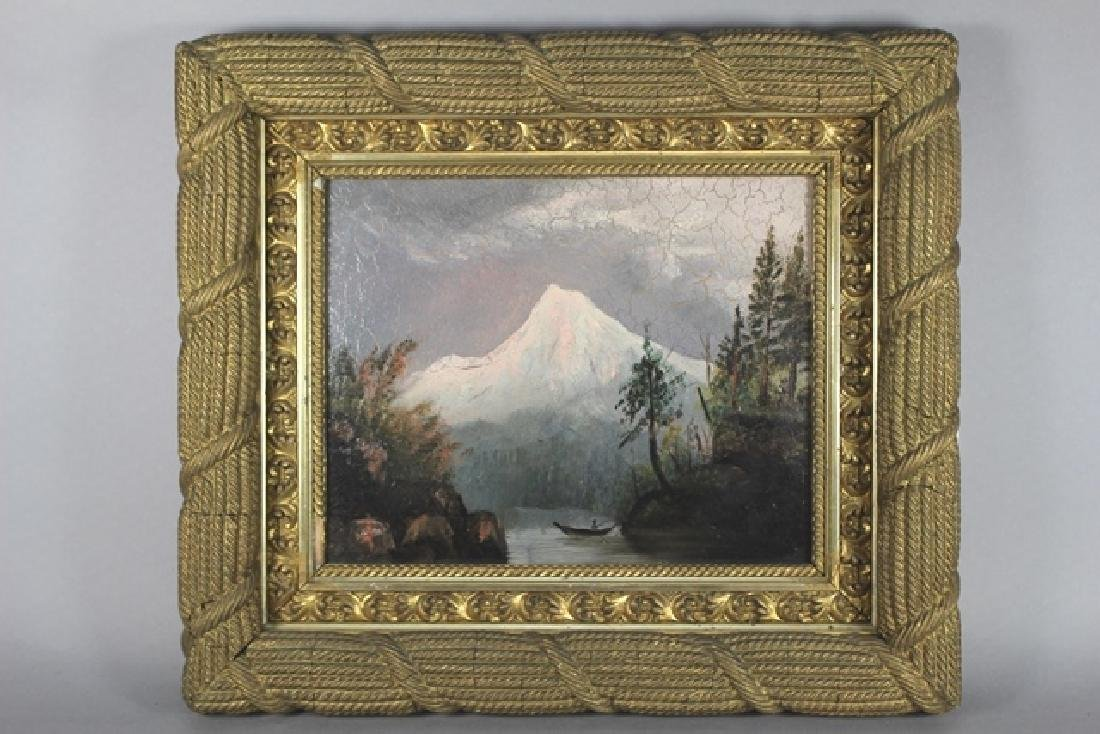 Early 20th. Century American Oil On Canvas