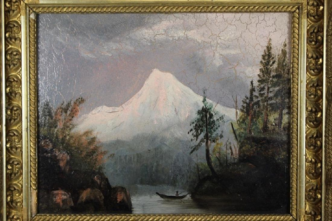 Early 20th. Century American Oil On Canvas - 2