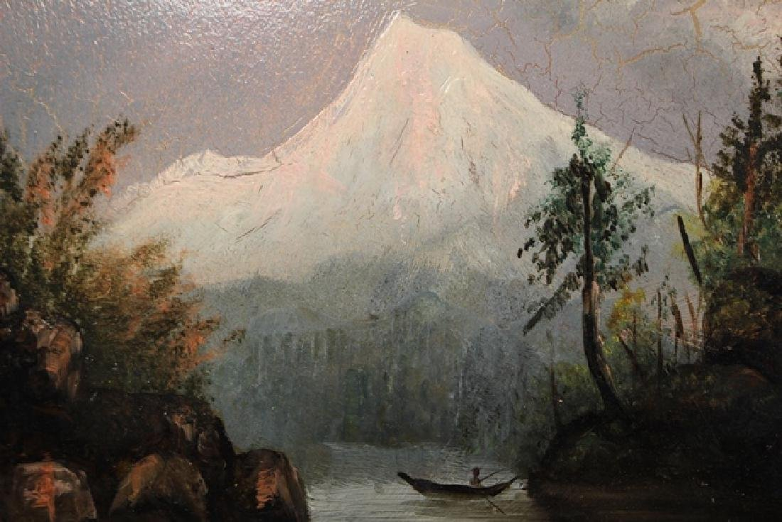 Early 20th. Century American Oil On Canvas - 3
