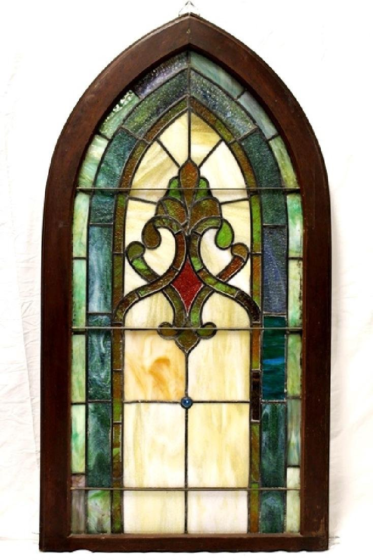 Early 20th Century Stained Glass Panel