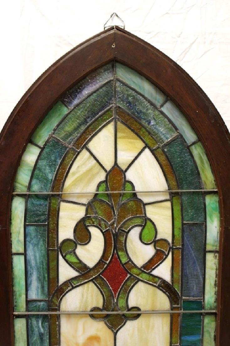Early 20th Century Stained Glass Panel - 4