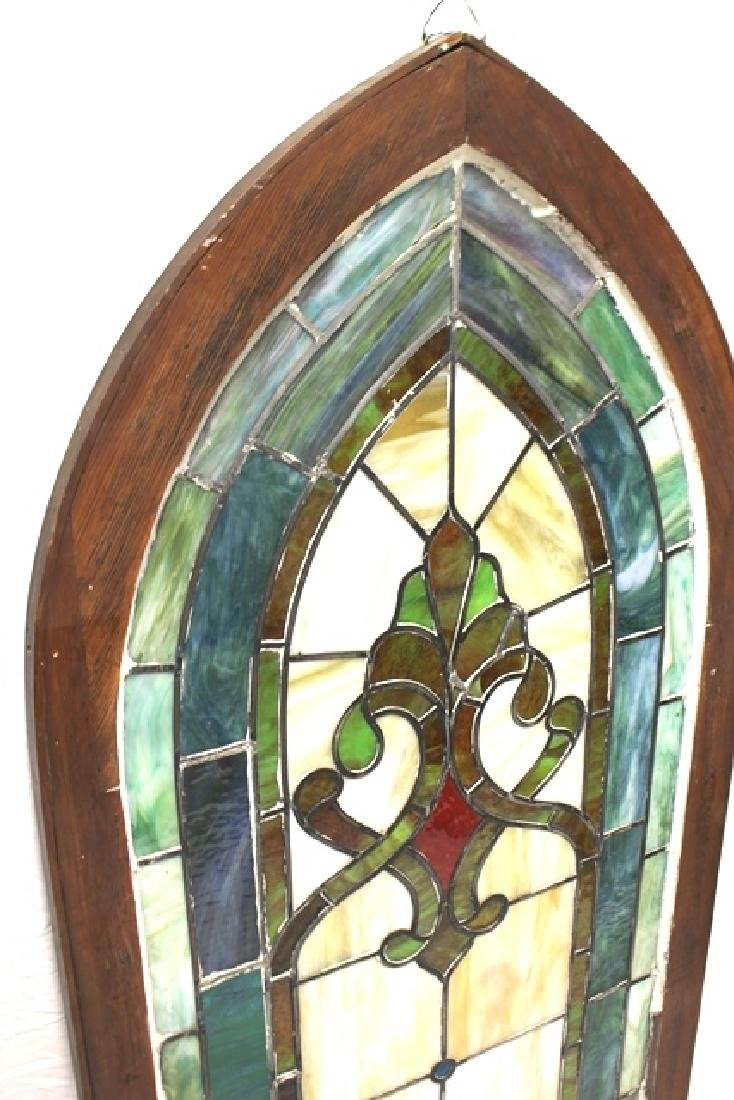 Early 20th Century Stained Glass Panel - 7