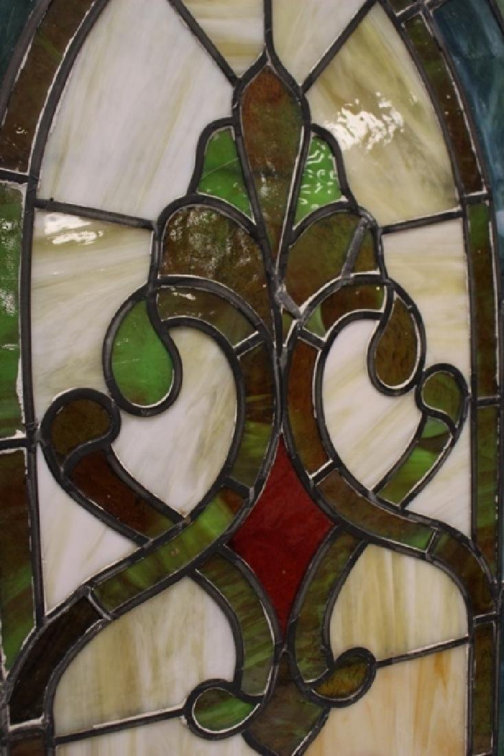 Early 20th Century Stained Glass Panel - 8