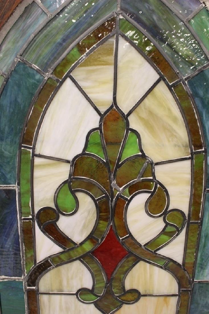 Early 20th Century Stained Glass Panel - 9
