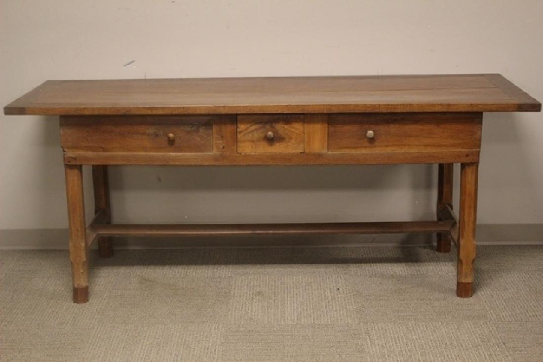 19th Century Constructed Harvest Table