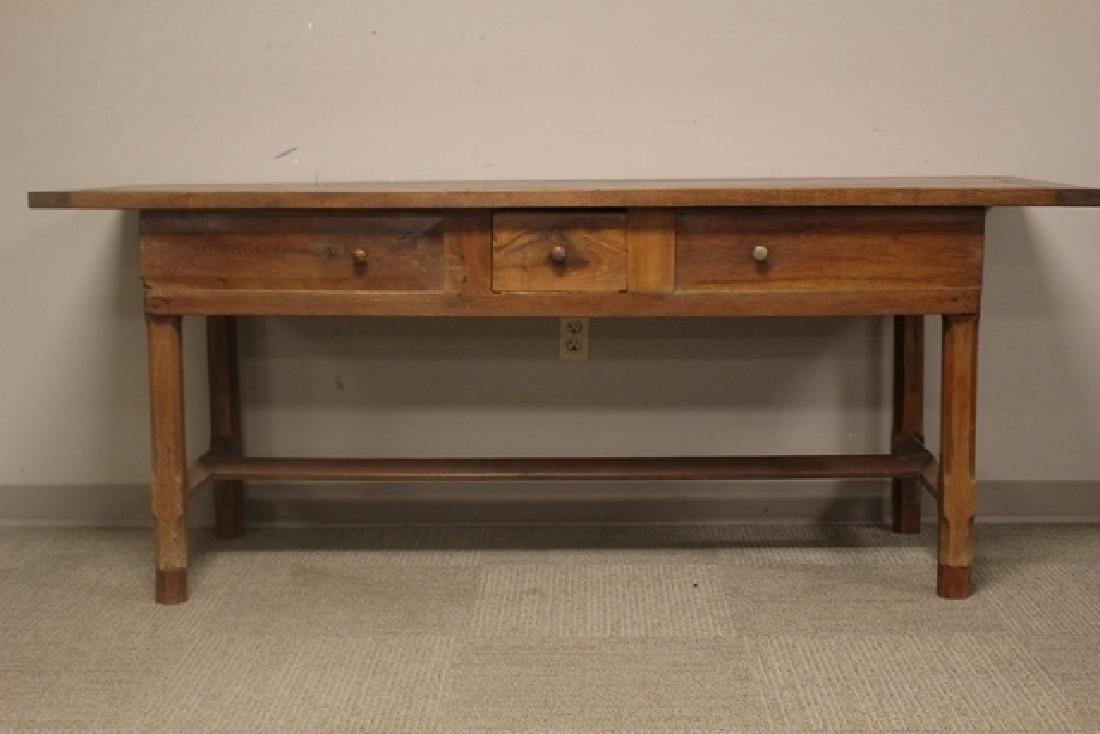 19th Century Constructed Harvest Table - 2