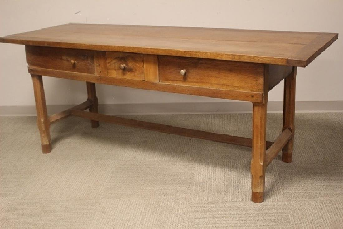 19th Century Constructed Harvest Table - 4